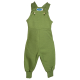 Reiff wool silk terry dungarees Green