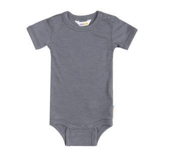 Joha wool silk short sleeved body grey