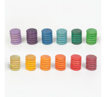 Grapat 72 coins in 12 colours (16-145)