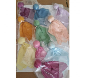 Filges plant dyed silk doll.