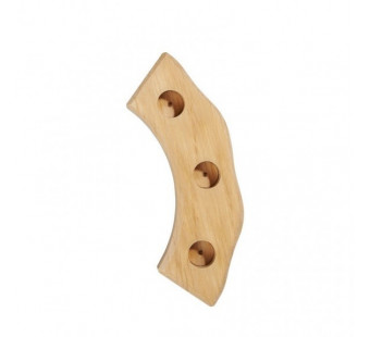 Gluckskafer wooden figurine holder natural