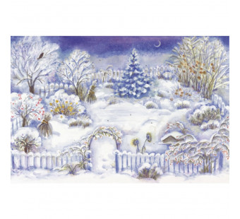 Advent calendar large from Rothenbuhler: Christmas garden