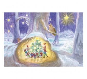 Adventskalender XXL  Die Zwerge und die Weihnachtsbaum (Dorothea Schmidt)