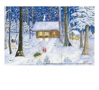 Advent calendar small - Auf der suche nach weihnachen (elisabeth heuberger)