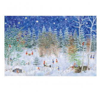 Advent calendar small - Advent im Zwergenwald (elisabeth heuberger)
