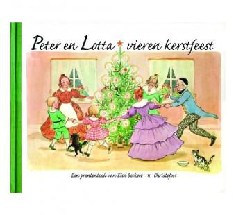 Peter en Lotta vieren kerstfeest (Elsa Beskow)