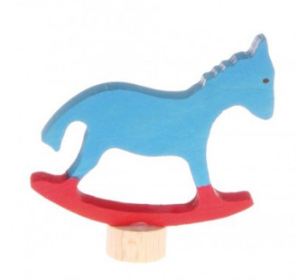 Grimms  traditional figurine  riding horse (3740)