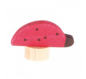 Grimms steker lieveheersbeestje  (3750)