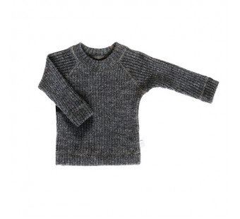 Joha woolen knitted sweater grey (16590)
