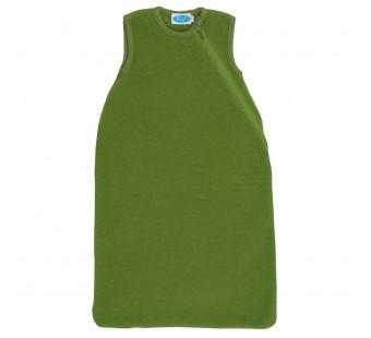 Reif merino woolfleece sleeveless sleeping bag apfel
