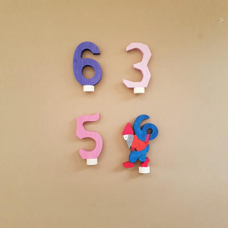 cijfer stekers