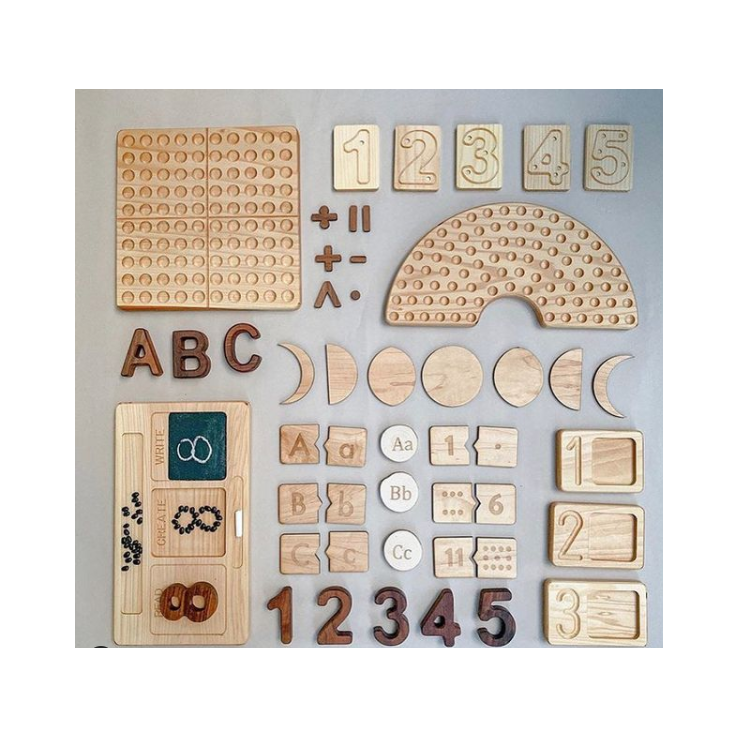 Montessori houten speelgoed