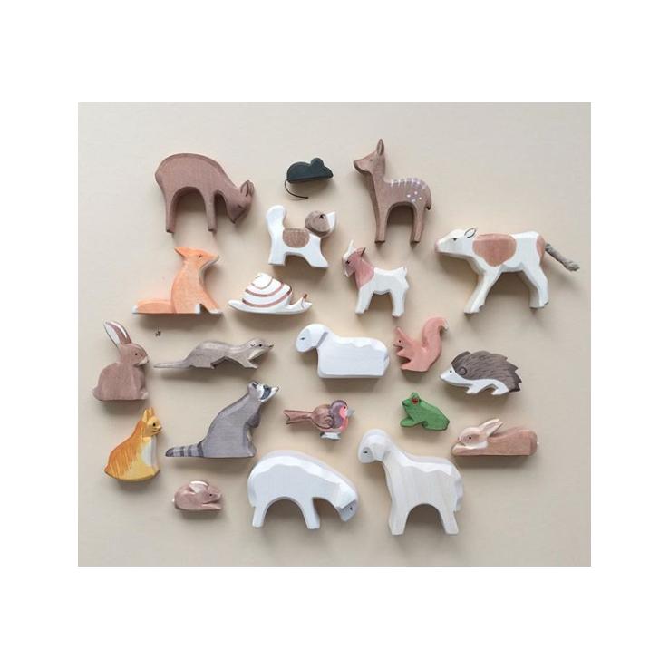 Dieren- en mensenfiguren en poppetjes