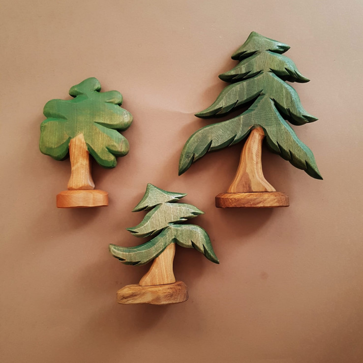 Trees and bushes