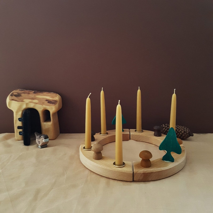 Grimms figurines and birthday rings